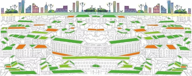 城市空间立面