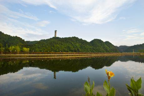 大地和记电讯澳门-黄山横江公园项目工程